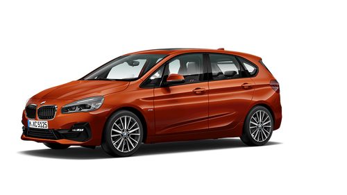 bmw 2 series active tourer modelcard