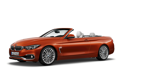 bmw 4 series convertible modelcard