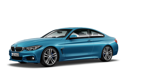bmw 4 series coupe modelcard